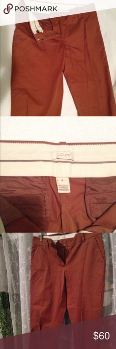 J Crew slim, straight leg, tan dress pants These have never been worn out! I took the tags off but have never been able to wear them, so practically brand new . J. Crew Pants Trousers