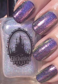 Enchanted Polish: ❤ Queen of the Castle ❤ ... holographic nail polish