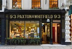 Image: Paxton and Whitfield Cheese Shop has been open on Jermyn Street in London since 1797. - Inside London's Oldest Establishments (© BARCROFT MEDIA/Ben Stevens)