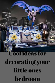 Decorating your boys bedroom is one of the most fun and exciting things a parent can ever have.  It can be a tricky one to complete though, but choosing a theme for the room does not always need to be