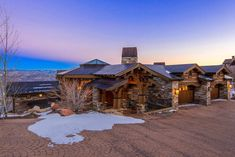 Mansion dream house: Gorgeous Lodge – 9806 N Summit View Drive Park City, UT 84060