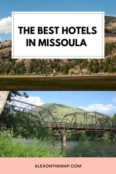 A trip to Missoula is the perfect way to get a taste of all that it has to offer. There are plenty of places to stay that give you a convenient location and incredible experience–especially when it comes to Missoula restaurants! This guide covers everything you need to know about the hotels and where to stay in Missoula, MT.