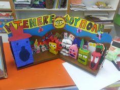 Αποτέλεσμα εικόνας για ντενεκεδουπολη δραστηριοτητες Toy Chest, Storage Chest, Classroom, Toys, November, Crafts, Furniture, Home Decor, Ideas