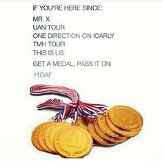 Pass on the medal!