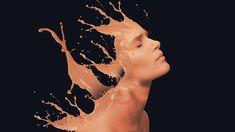 Paint Splash Dispersion Photoshop Effect Paint Splash, Photoshop Effects, Photoshop Tutorial, Tutorials, Painting, Image, Splash Of Colour, Painting Art, Paintings