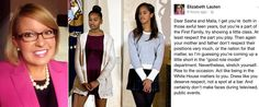 GOP Employee Elizabeth Lauten, the Director of Communications for republican congressman Stephen Fincher (R-TN) popped off about the First Daughters and the Internet decided not to let it slide. She blasts Sasha & Malia Obama's 'Classless' Television Presence on Facebook Before Issuing an Apology [Photos] | B. Scott | Celebrity Entertainment News, Fashion, Music and Advice