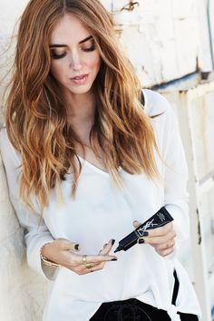 Beauty YSL   Chiara Ferragni
