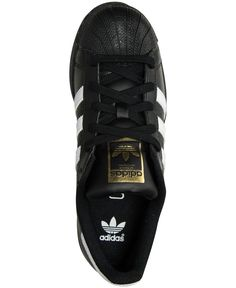 d94b26835aa5 adidas Big Boys  Superstar Casual Sneakers from Finish Line Basketball  Sneakers