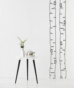 Birch wall stickers, Ferm Living