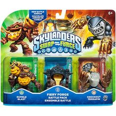 Skylanders Swap Force Fiery Forge Battle Pack (Universal)