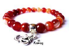 Mandala, Beaded Bracelets, Yoga, Jewelry, Health, Fashion, Carnelian, Make Jewelry, Moda