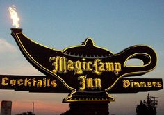 The Magic Lamp Inn - Another historic steakhouse in Rancho Cucamonga that has been a friendly, comfortable outpost for diners on Old Historic Route 66 since the 1940's.  I've never been, but I'll have to check it out just for the historical nostalgia.