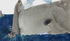 "Svetlana Akateva illustration for ""Baron Munchausen"". Deep Sea Creatures, Seahorses, Baron, Film Posters, Mermaids, Illustrators, Waves, Outdoor, Outdoors"