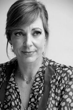 Allison Janney. I have such a giant crush on her. She was totally miscast in that one episode of LOST, though.