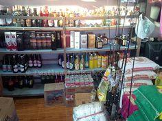 The liquor corner next to the fishing gear @ Captain Shop (Koh Kood, Thailand)