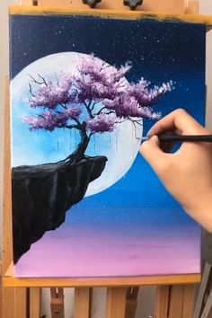 Love Canvas Painting, Simple Canvas Paintings, Canvas Painting Tutorials, Easy Canvas Art, Art Painting Gallery, Small Canvas Art, Painting Tips, Diy Canvas, Creative Painting Ideas