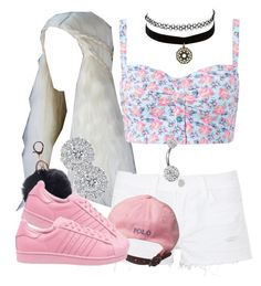 """""""."""" by trillest-queen ❤ liked on Polyvore featuring J Brand, adidas Originals, Charlotte Russe and Bling Jewelry"""