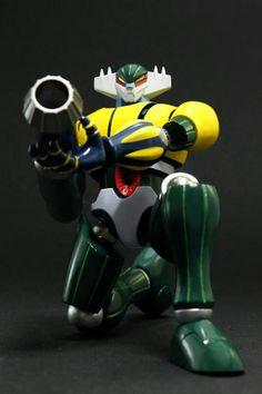 """El Vengador - Kotetsu Jeeg Figura de Colección del """"Festival de los Robots"""" en Latinoamerica. Tamaño de 17.5 cm, material metal imantado. Precio s/ 685 #DeTodoToys"""
