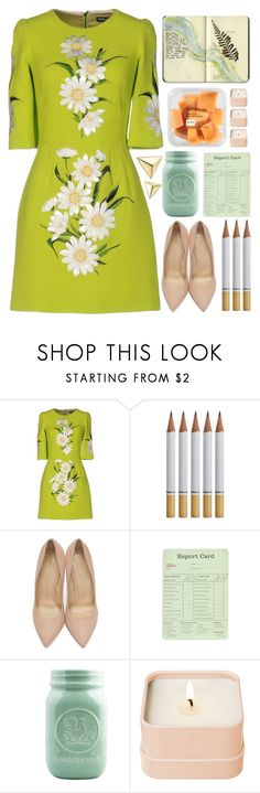 """""""Early Spring"""" by lover-of-pie on Polyvore featuring Dolce&Gabbana, Charlotte Olympia, Moleskine, Henri Bendel and Zoë Chicco"""