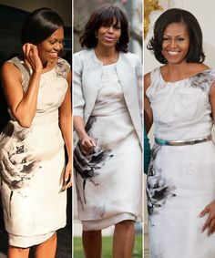 Michelle Obama's most memorable outfit repeats (like the Prabal Gurung dress she wore on Easter)