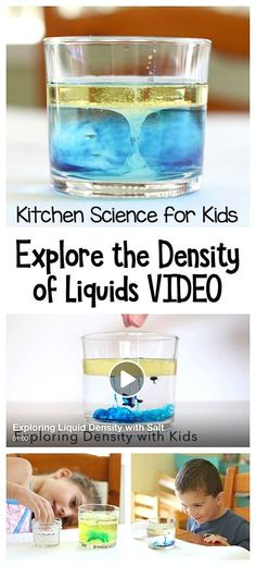 Kitchen Science for Kids: Explore the density of liquids in this mesmerizing science activity! It's similar to making lava lamps- kids love it! ~ BuggyandBuddy.com
