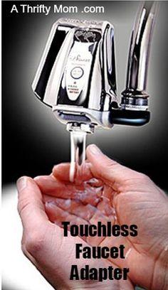 touchless sensor faucet