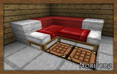 Minecraft- Cool bed idea http://www.helpmedias.com/minecraft.php