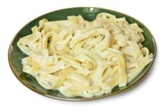 Dave Lieberman's Fettuccine Alfredo from The Dr. Oz Show. Surprisingly no butter or cream involved. Jared and Courtney loved it! I used green onions and would more than double what the recipe calls for, if you like them. The sauce is made from cauliflower.