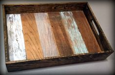 Wooden Serving Tray by grandrapidswoodworks on Etsy