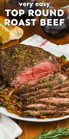Only 5 minutes to prepare this EASY and delicious roast beef!