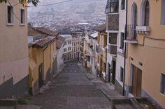 Ecuador Driving Quito Old Town - Ecuador GPS GIS Map Garmin - Gallery - GPSeTravelguides