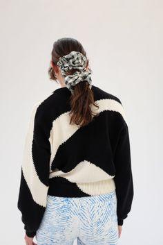 Paloma Wool Pin Sweater - Black | Garmentory Big Spring, Spring Summer Trends, Universal Works, Printed Matter, Black Sweaters, Winter Hats, Pullover, Wool, Knitting