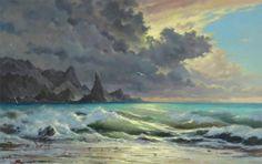 George Dmitriev 17 Art by George Dmitriev seascape paintings