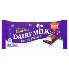 Cadbury Dairy Milk Snowy Delight 120G - Groceries - Tesco Groceries
