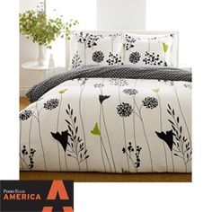 @Overstock - With a modern edge and an abundance of style, this Asian Lilly comforter set is an ideal way to dress up any bedroom decor. The comforter showcases a floral print and reverses to a pompom print, giving you 2 great looks in 1.http://www.overstock.com/Bedding-Bath/Perry-Ellis-Asian-Lilly-3-Piece-Comforter-Set/4998979/product.html?CID=214117 $72.99