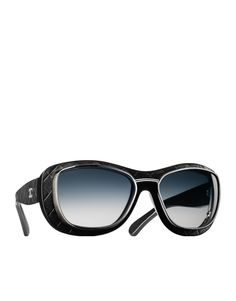 Acetate pilot-inspired sunglasses... - CHANEL