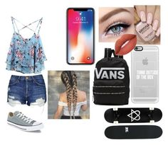 """""""Untitled #118"""" by emmaroseb86 on Polyvore featuring WithChic, Topshop, Casetify, Converse and Vans"""