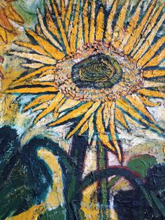 1stdibs | Sunflower Paintings by John Bratby