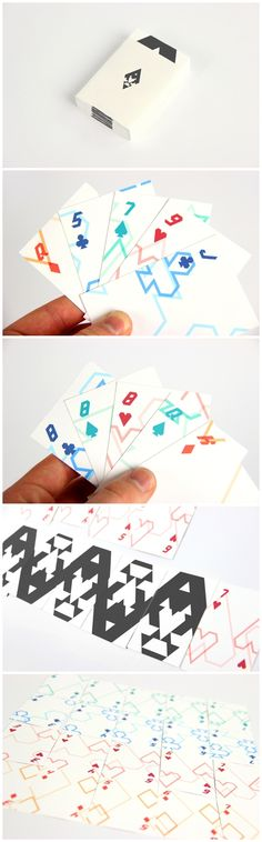 Modern Playing Cards  by Ryan Bugden