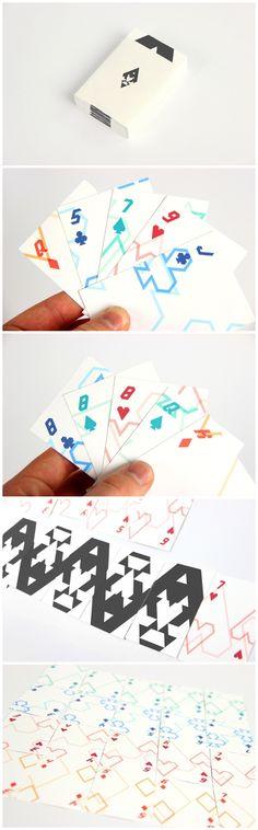Modern Playing Cards  by Ryan Bugden