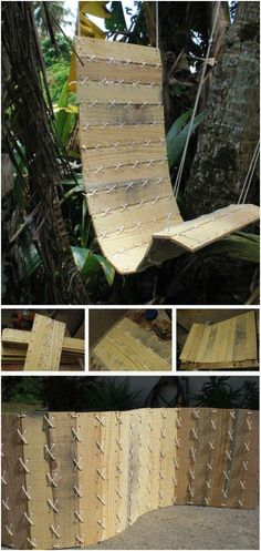 DIY Pallet proejcts That Are Easy to Make ! Today we present you one collection of 20 DIY Pallet Projects offers inspiring ideas. You can make so many different type of items with pallets and you can get started selling your crafts on Etsy or other sites Outdoor Pallet Projects, Pallet Crafts, Diy Wood Projects, Crafts With Pallets, Wooden Crafts, Outdoor Furniture Plans, Pallet Furniture, Furniture Ideas, Bed Furniture