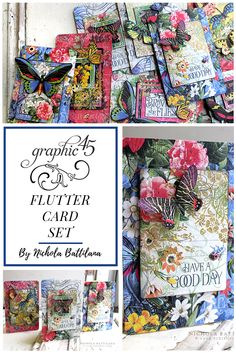 737 Best Cards images in 2019 | Graphic 45, Cards, Scrapbook