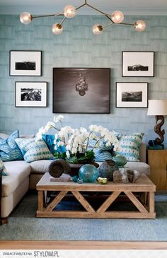Coastal Style Living Room Idea   45 Coastal Style Home Designs