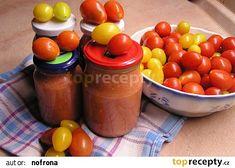 Česnekovo-rajčatová směs bez konzervace recept - TopRecepty.cz
