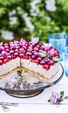 Just Eat It, Cheesecakes, Yummy Cakes, Vanilla Cake, Panna Cotta, Sweet Treats, Food And Drink, Baking, Ethnic Recipes