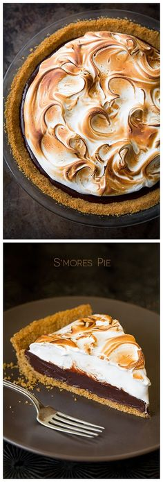 S'mores Pie - The Best Recipes of 2015