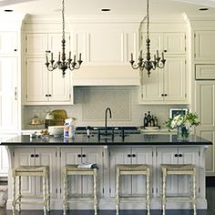 Love those cabinets!