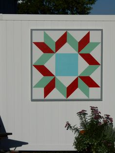Dove at the Window Barn Quilt 2'x2' morningstarbarnquilts.com