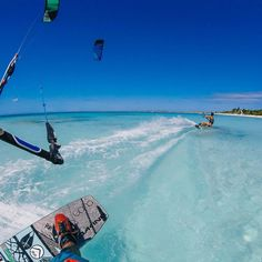 Morning World #GoPro #BasixsLife #OzoneKites #Tonalife #Kiteboarding
