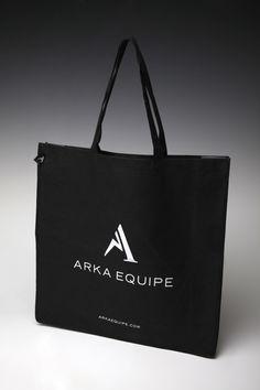 A Non-woven bag we created for Arka Equipe.